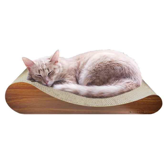 야오미 고양이 소파 스크레쳐 평판형, 혼합 색상, 1개