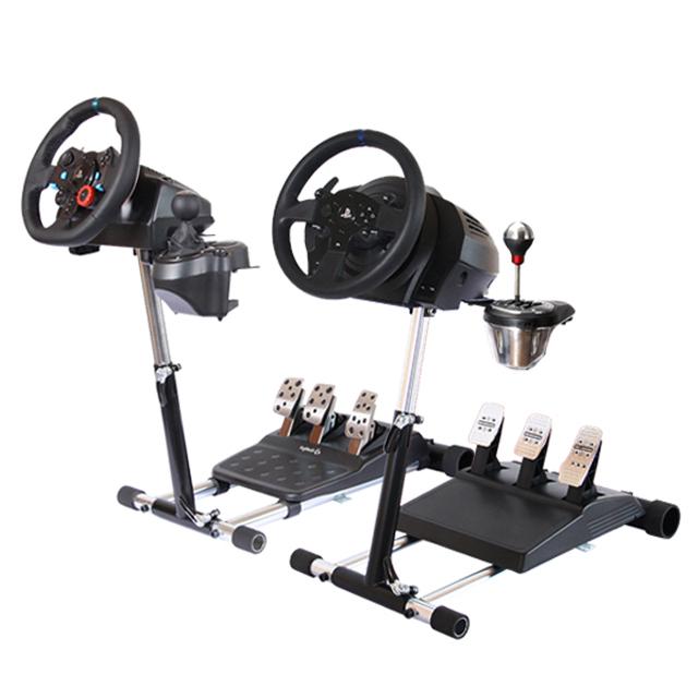 트러스트마스터 & 로지텍 공용 휠 스탠드 프로, 단일 상품, 1개