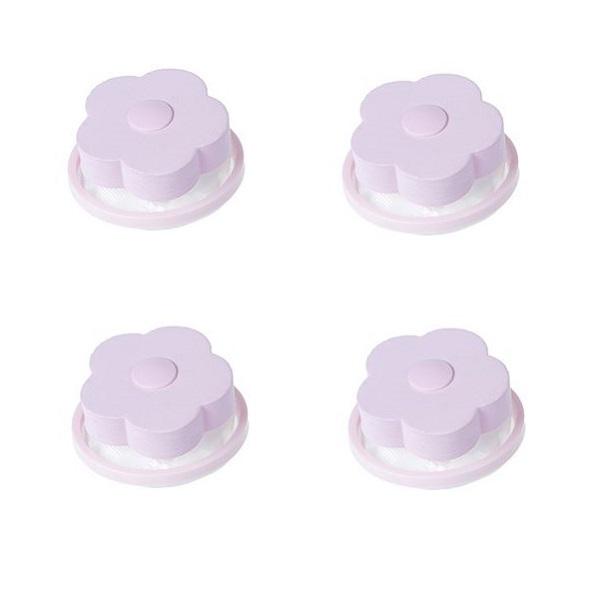 영그린 통돌이전용 세탁기 먼지 거름망 핑크, 1개입, 4개