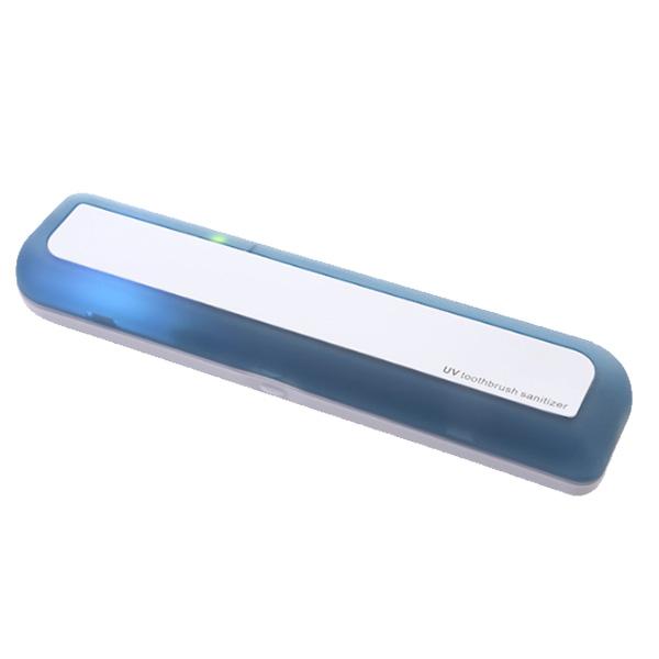 유스마일 휴대용 UV 자외선 사각 칫솔살균기 NO.0039, 블루