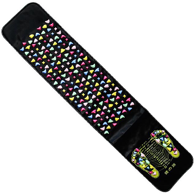 하늬통상 자갈 발지압판 발지압매트 중형, 1개, 혼합 색상