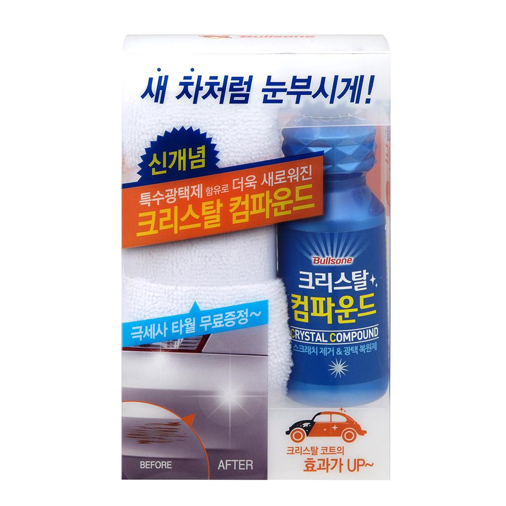 불스원 크리스탈 컴파운드, 150ml