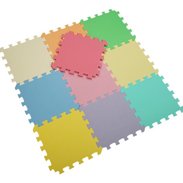 비앤씨 무지 퍼즐매트 10p세트, 혼합 색상-9-108947238