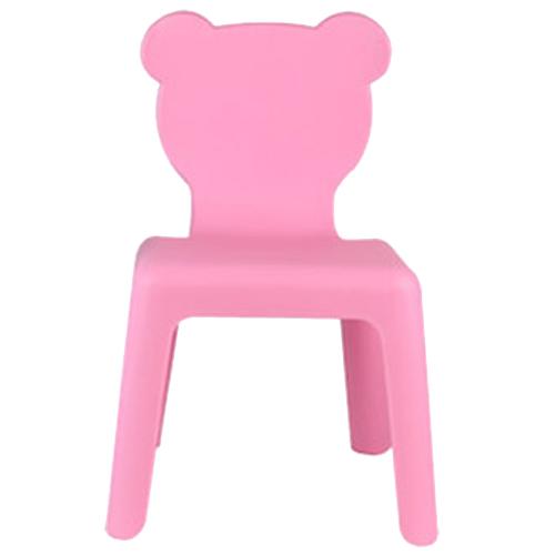 파파스토이 곰돌이 유아의자 대, 파스텔핑크