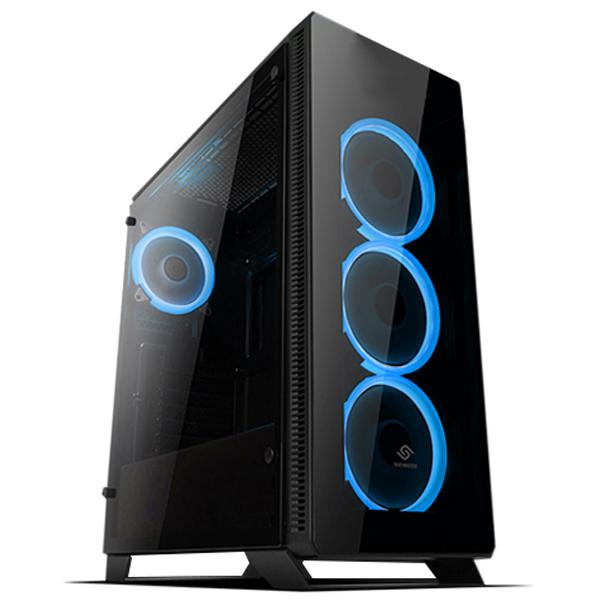 컴퓨터코리아 조립PC 인텔 게이밍데스크탑 하태핫태PC (고사양게임용 8세대 i7 8700 WIN10 16G 240G 2TB GTX1060 6G), 단일 상품