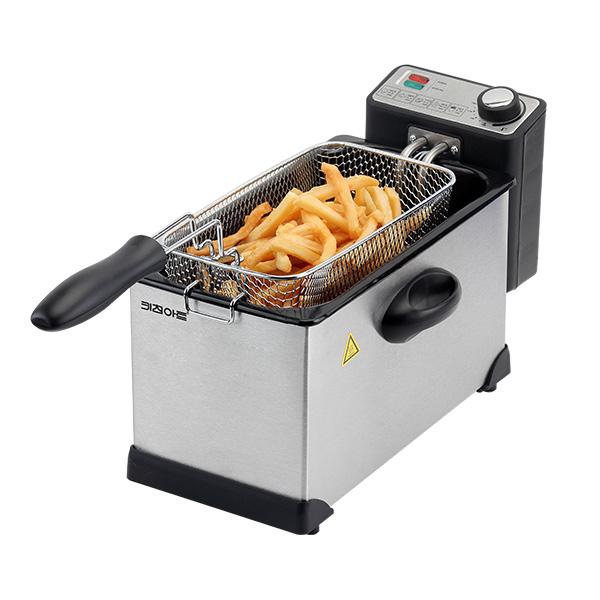 키친아트 전기 튀김기 가정용 분리형, KA-F3000W