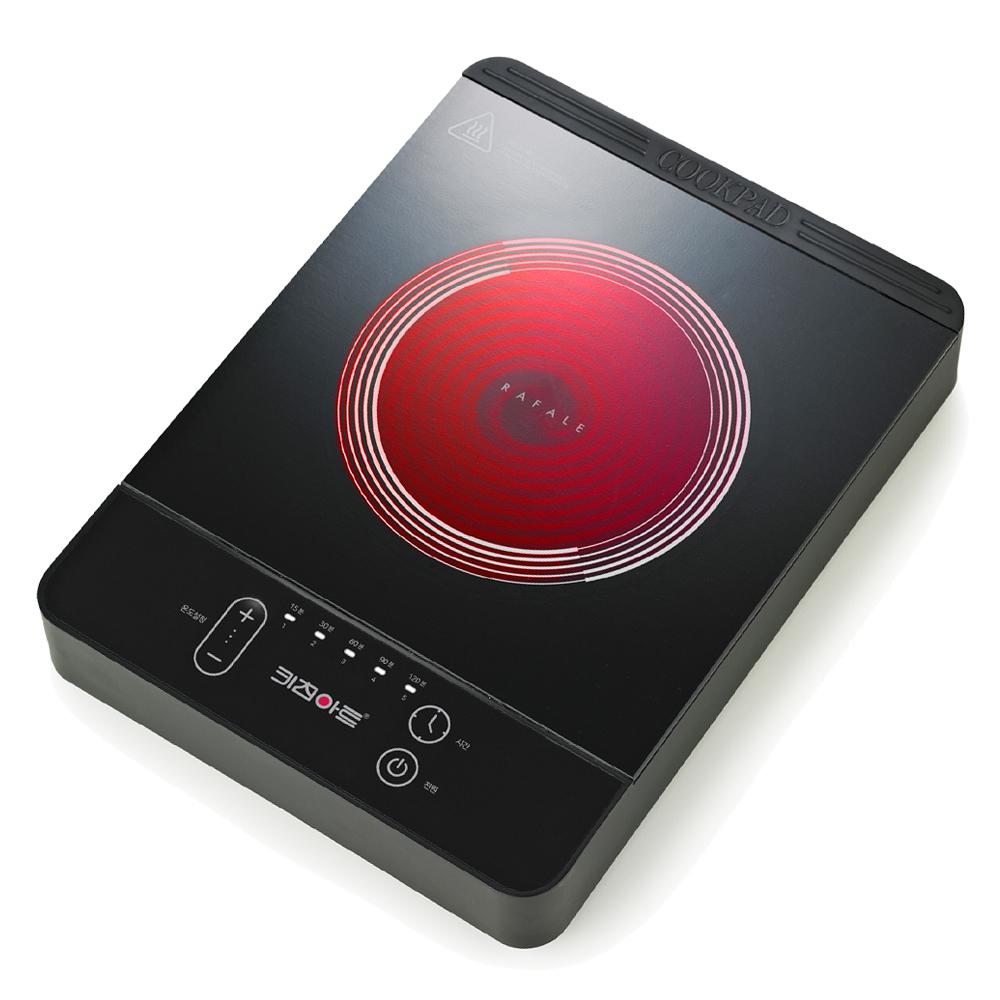 키친아트 라팔 전기렌지 하이라이트 1구 자가설치, TWHL-1205FD