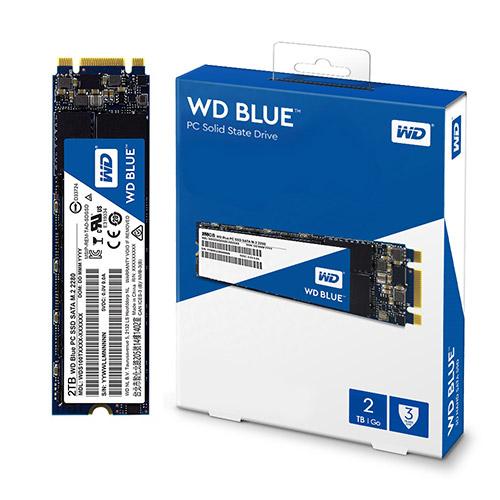 WD Blue M.2 SSD, WDS200T2B0B, 2TB