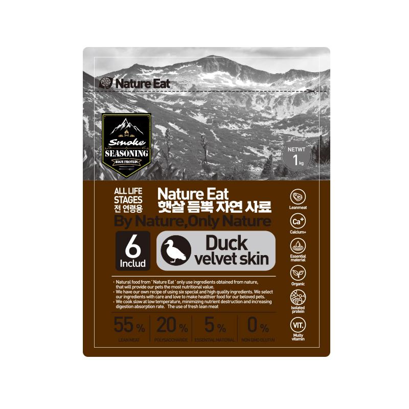 네이처잇 햇살 듬뿍 자연 수제사료, 오리, 1kg