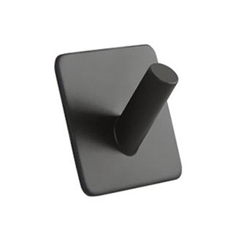 히키스 강력부착 인테리어 모던 벽후크 사각형사선타입, BLACK