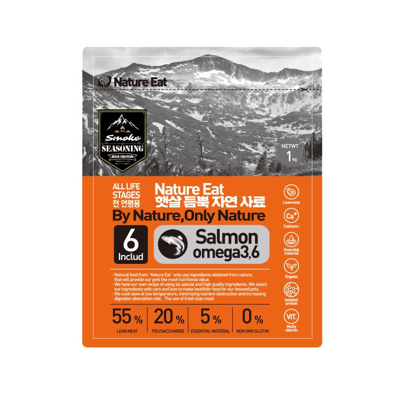 네이처잇 햇살 듬뿍 자연 수제사료, 연어, 1kg