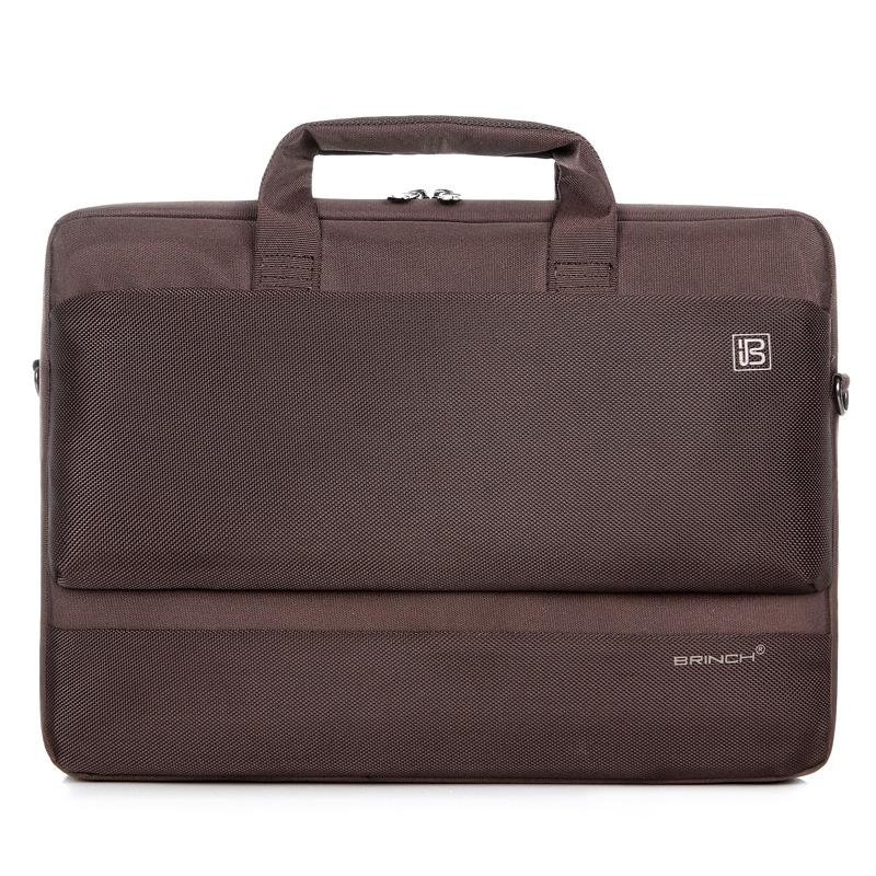 BRINCH 노트북가방 BW-203, 브라운, 17in