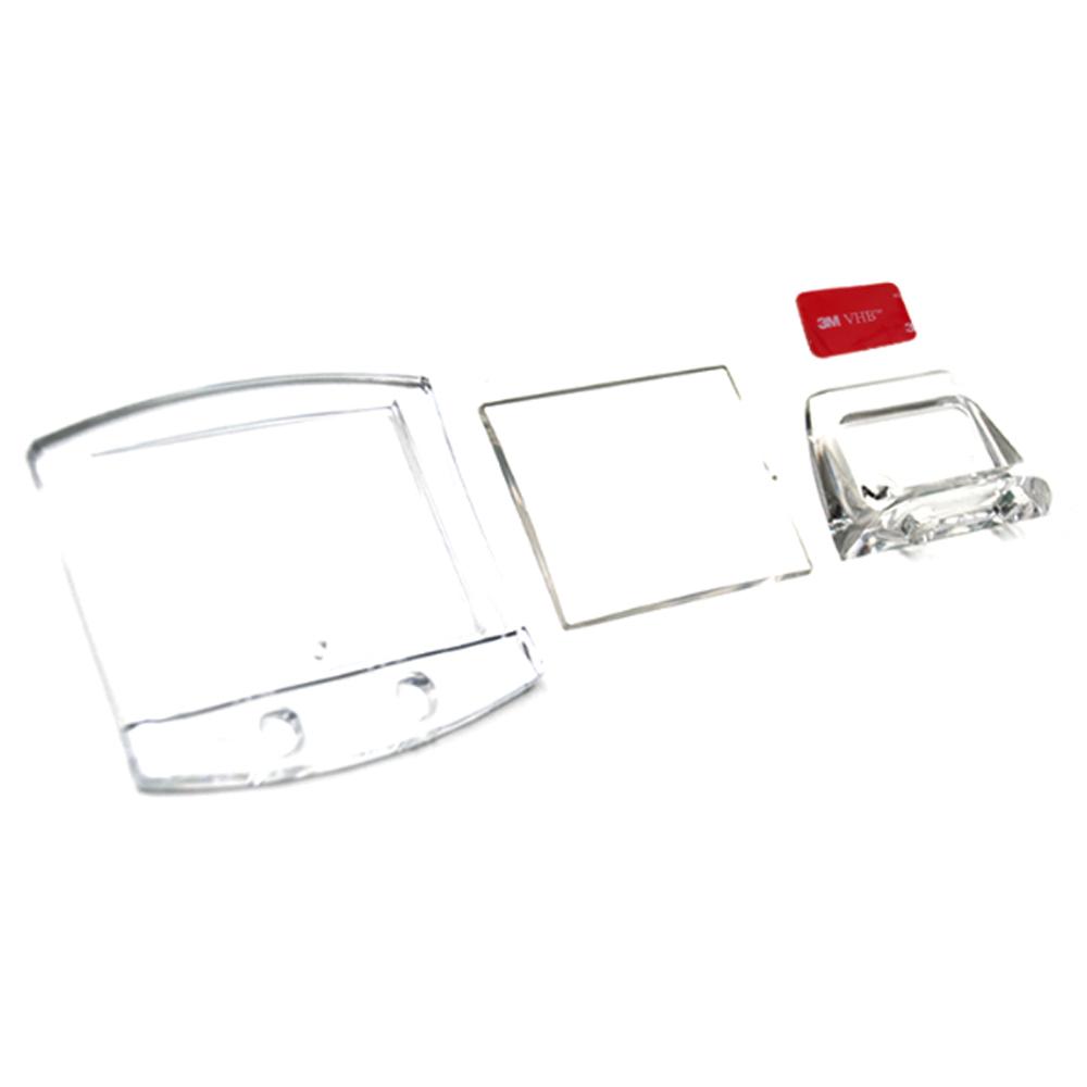 지엔 차량용 솔리드 포토프레임 액자 72 x 69 mm, 1개