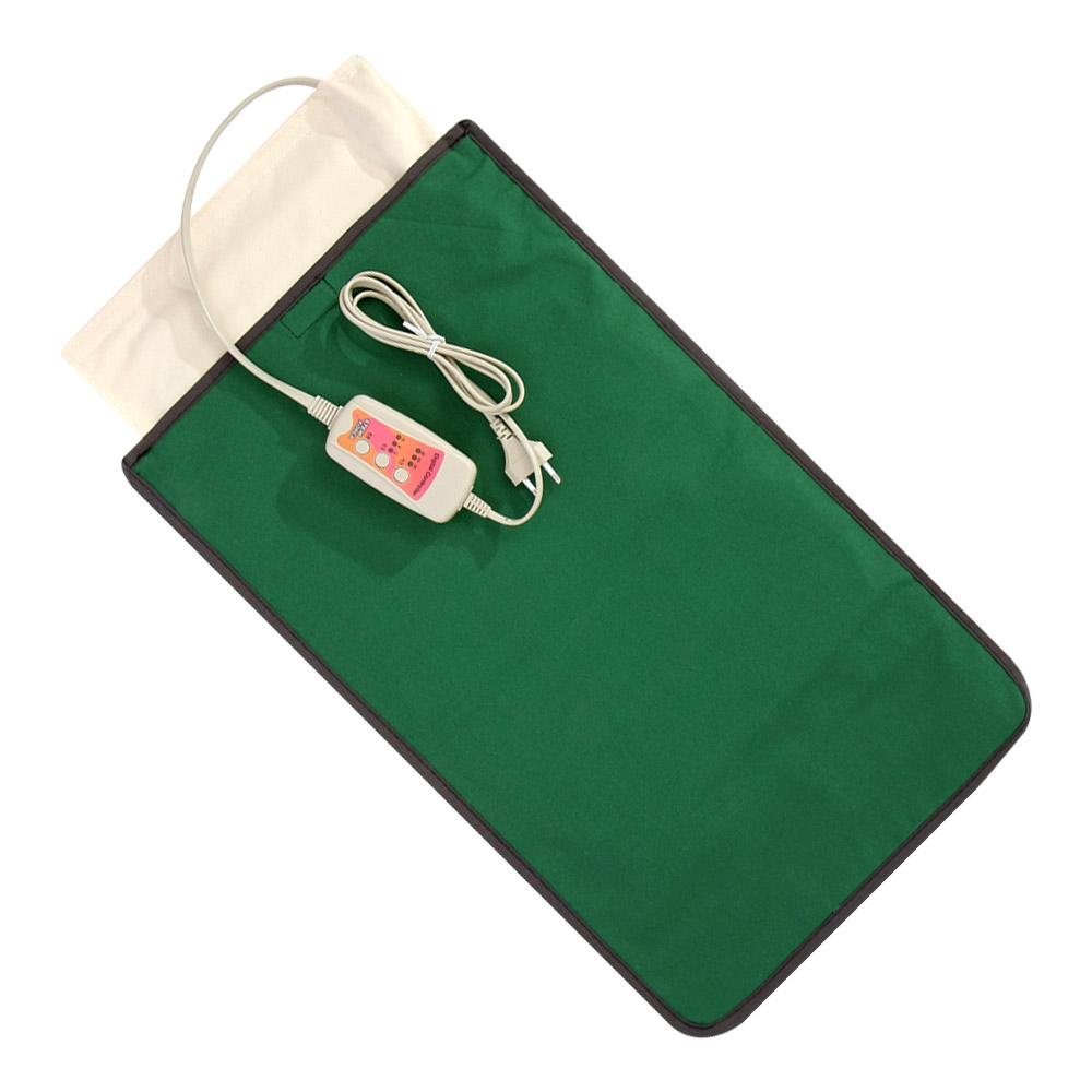 애슬라 황토 맥반석 옥 어깨 허리 복부 전기 찜질기, JTB-3560(딥그린) (POP 116205287)