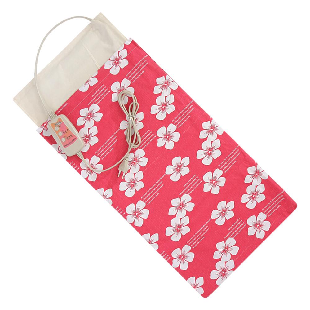 애슬라 황토 맥반석 옥 어깨 허리 복부 전기 찜질기, JTB-3560(핑크)