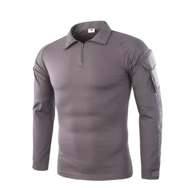 오케이밀리터리 남성용 ESDY 서바이벌 컴뱃 긴팔 티셔츠