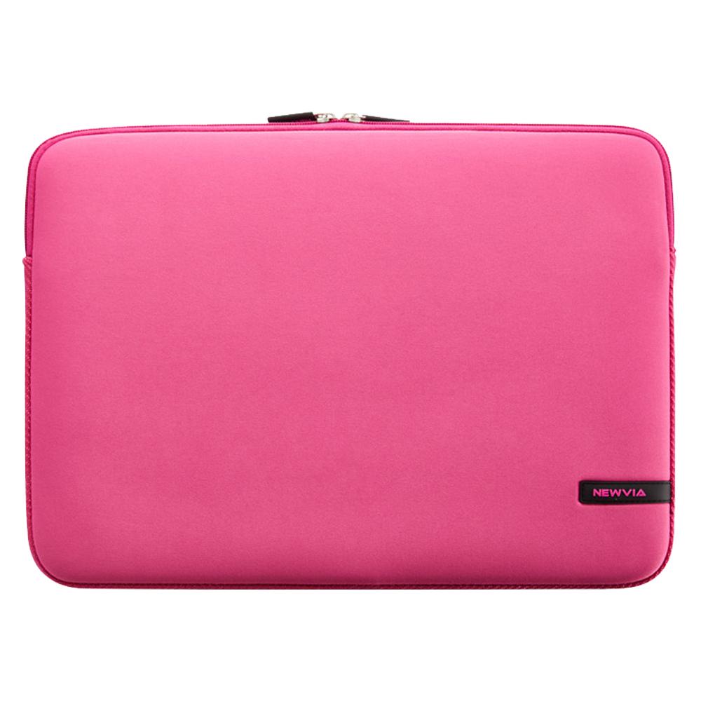 뉴비아 베이직 노트북 컬러파우치 NVA-N007, 핑크