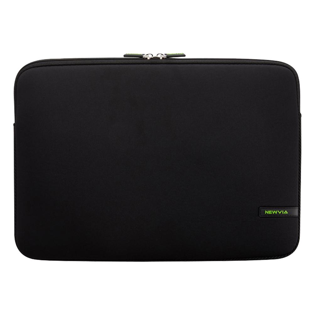 뉴비아 베이직 노트북 컬러파우치 NVA-N007, 블랙
