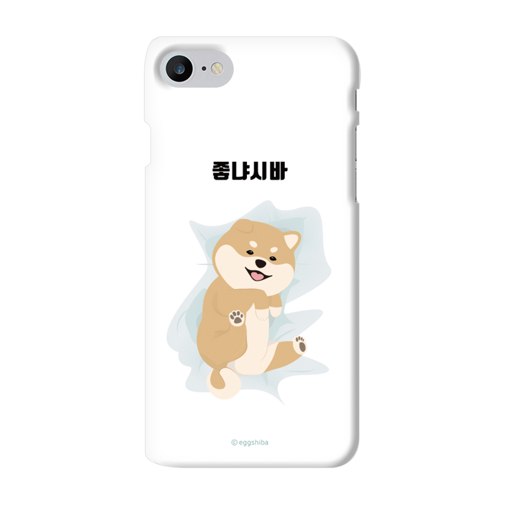 코쿼드 에구시바 커플 슬림하드 휴대폰 케이스