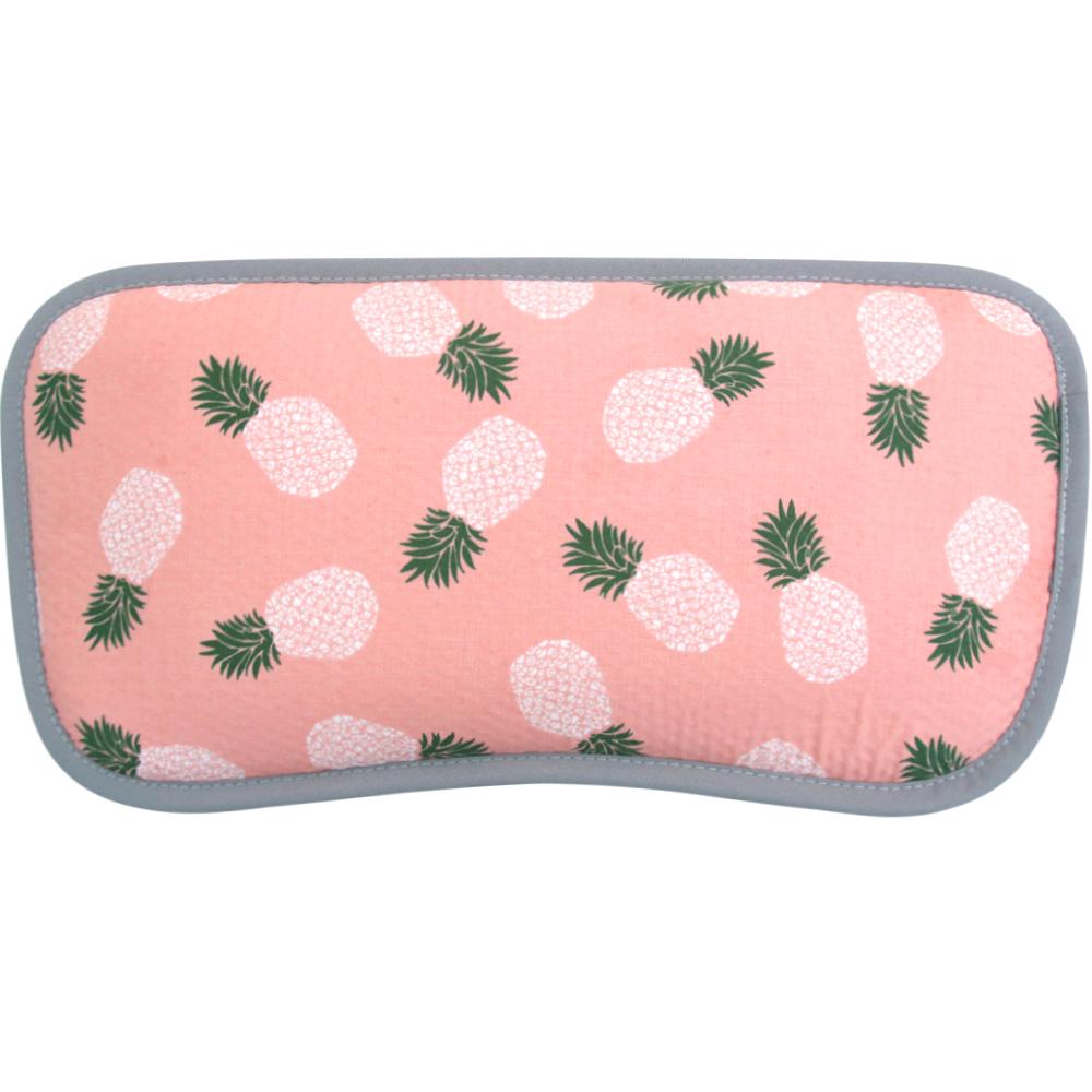 리틀미 3D 에어매쉬 유아동 베개, 핑크파인애플