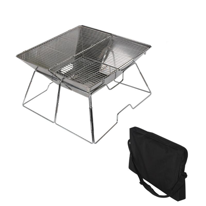 데이브렉 접이식 매직 바베큐 화로대 + 휴대용 보관가방, 1세트