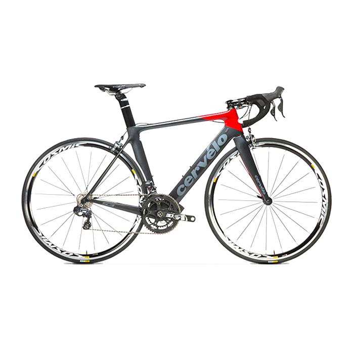서벨로 S3 전동 울테그라 DI2 6870 로드 자전거, 블랙레드