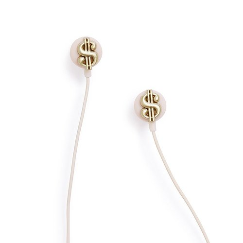 밴도 listen up ear buds cash money 이어폰, 단일 상품, 혼합 색상