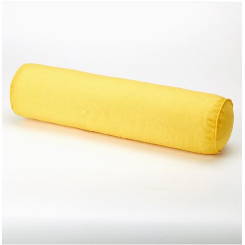블리코 홈테리어 단색 원통 사탕베개 옐로우