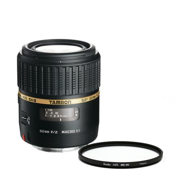 탐론 SP AF60mm F/2 Di 2 소니렌즈 G005 + 겐코 필터 55mm Kenko Air MCUV, G005(렌즈), Kenko Air MCUV(필터)