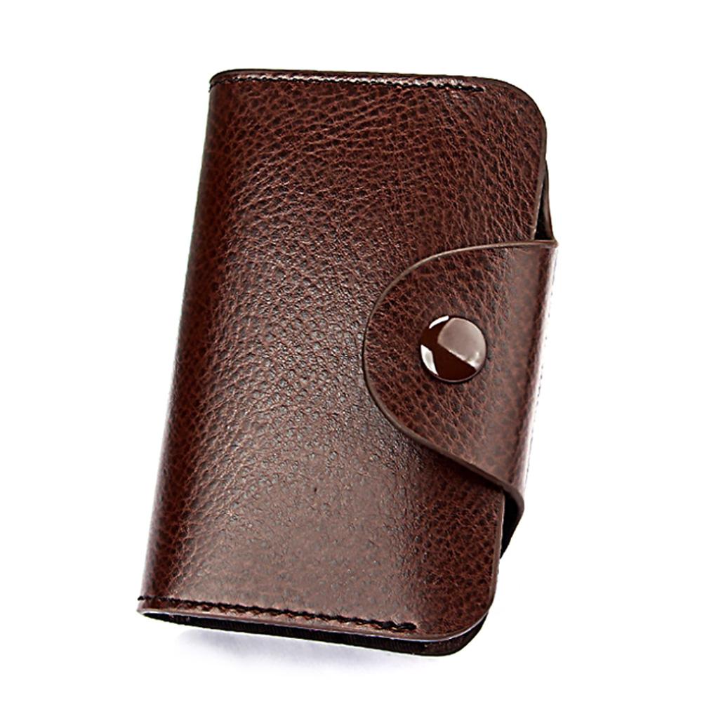 DM 알럽뷰 심플 버튼 카드 지갑