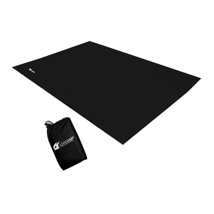 조아캠프 방수매트 150 + 수납가방, 블랙