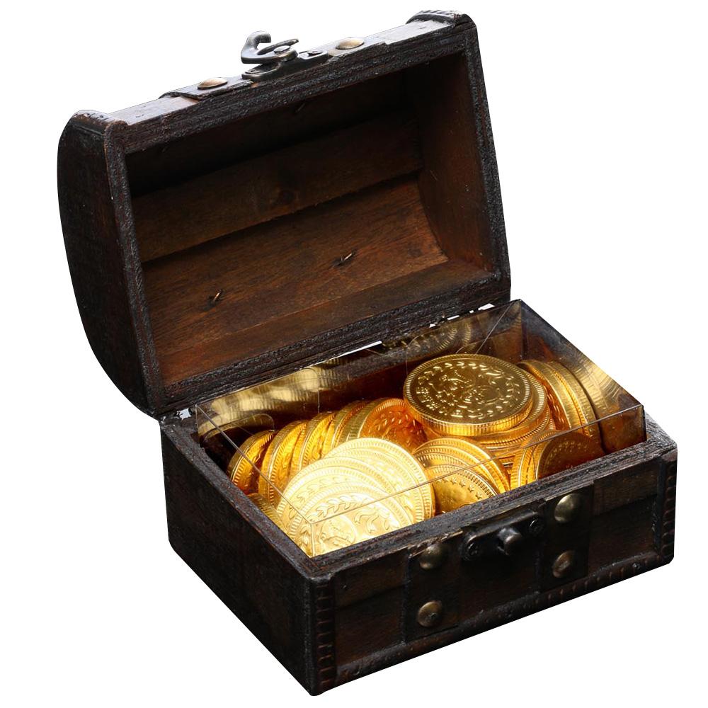 스틴랜드 행운의 보물함 금화 초콜릿, 153g, 1개