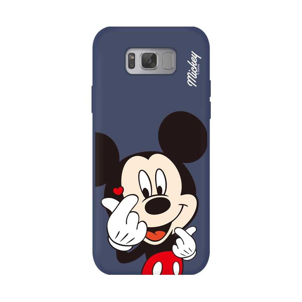 디즈니 핑거하트 슬림 핏 젤리 휴대폰 케이스