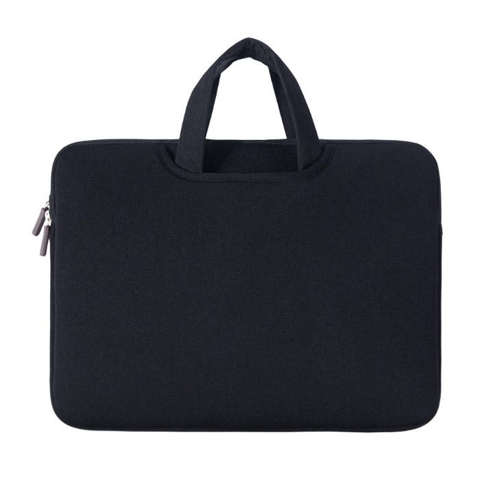 아리코 맥북 노트북 파스텔 가방, 블랙, 15in