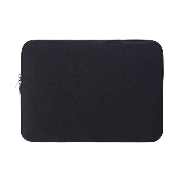 아리코 맥북 노트북 파스텔 파우치, 블랙, 14in