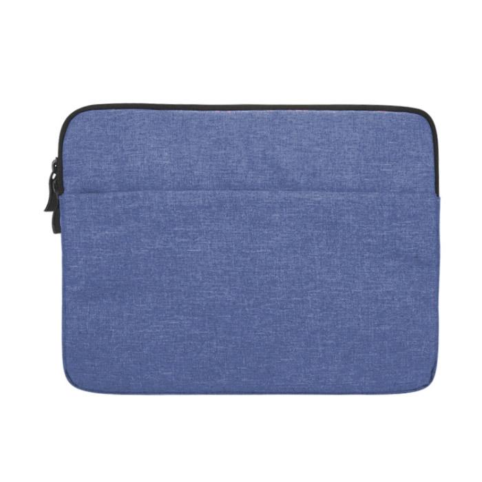 아리코 맥북 원포켓 노트북 파우치, 블루, 11in