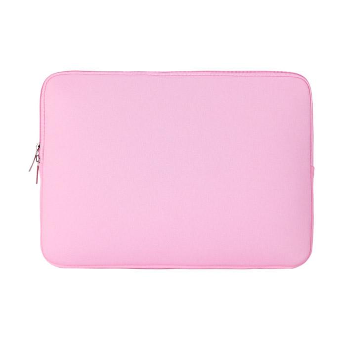 아리코 맥북 노트북 파스텔 파우치, 핑크, 11in