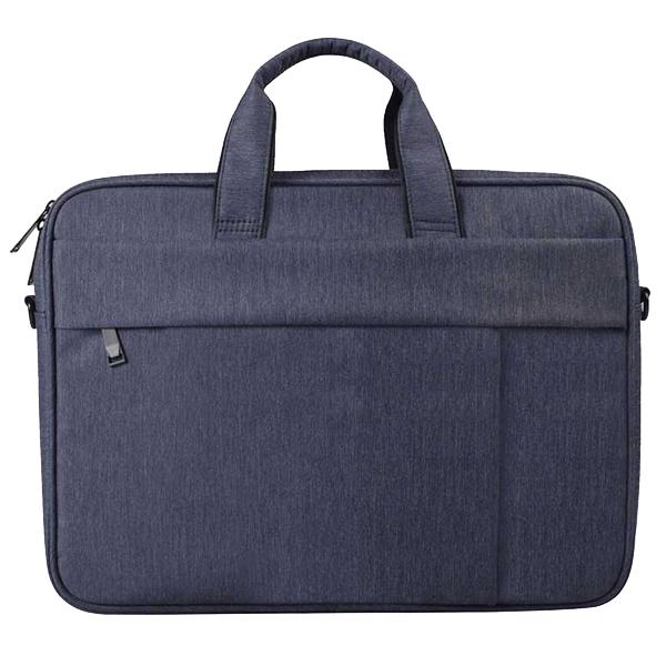 플럭스 투라인 크로스백 노트북 가방, 네이비 블루, 15in