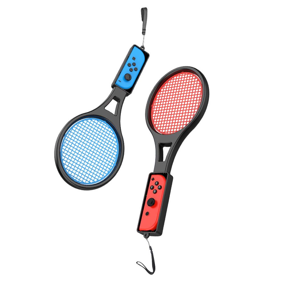 조이트론 닌텐도 스위치 조이콘 마리오 테니스 라켓 2p 블랙, JTSW-130, 1세트-2-132211476