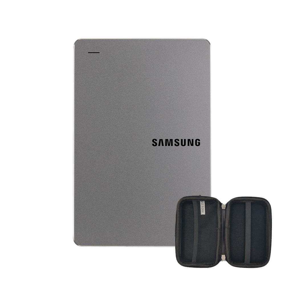 삼성전자 외장하드 Y3 HX-MK10Y39 + 파우치, 2TB, 스모키 그레이
