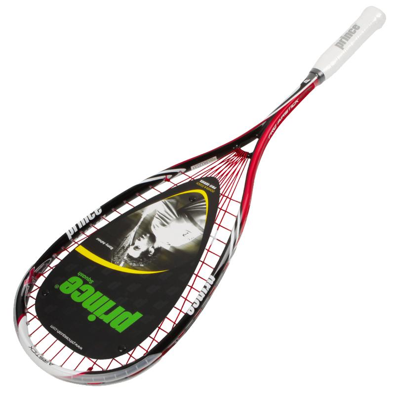 프린스 프로 에어스틱 라이트 550 스쿼시라켓, 블랙레드