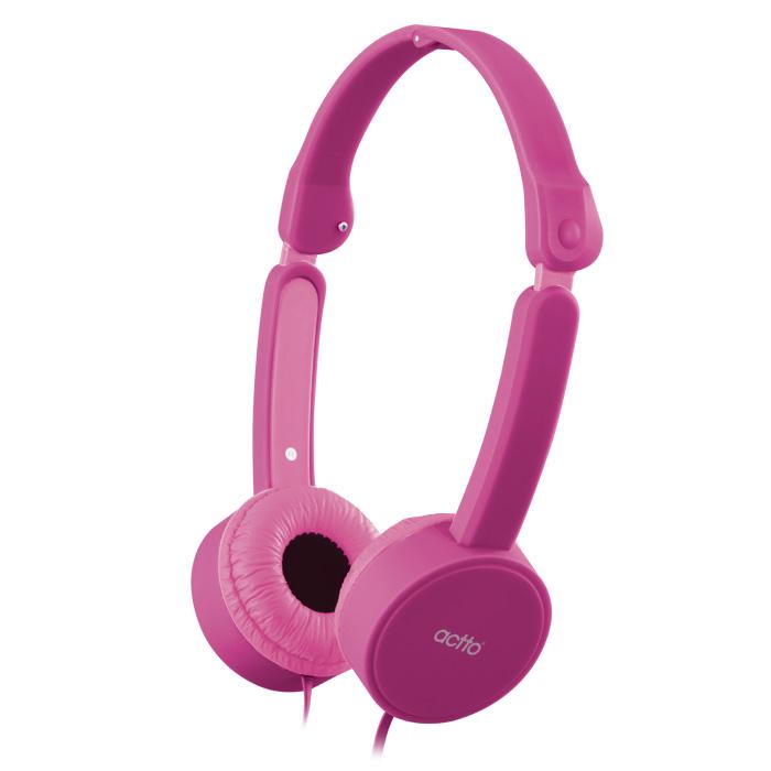 엑토 지니 키즈 헤드폰, 핑크, BKS-76