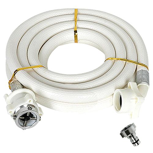 와이넷 PVC 세탁기 호스 3m + 커플링, 단일 상품, 1세트