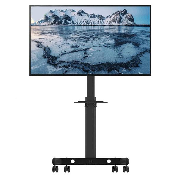 아이존 TV 이동형 스탠드 EZ-MTC-640, 블랙, 1개