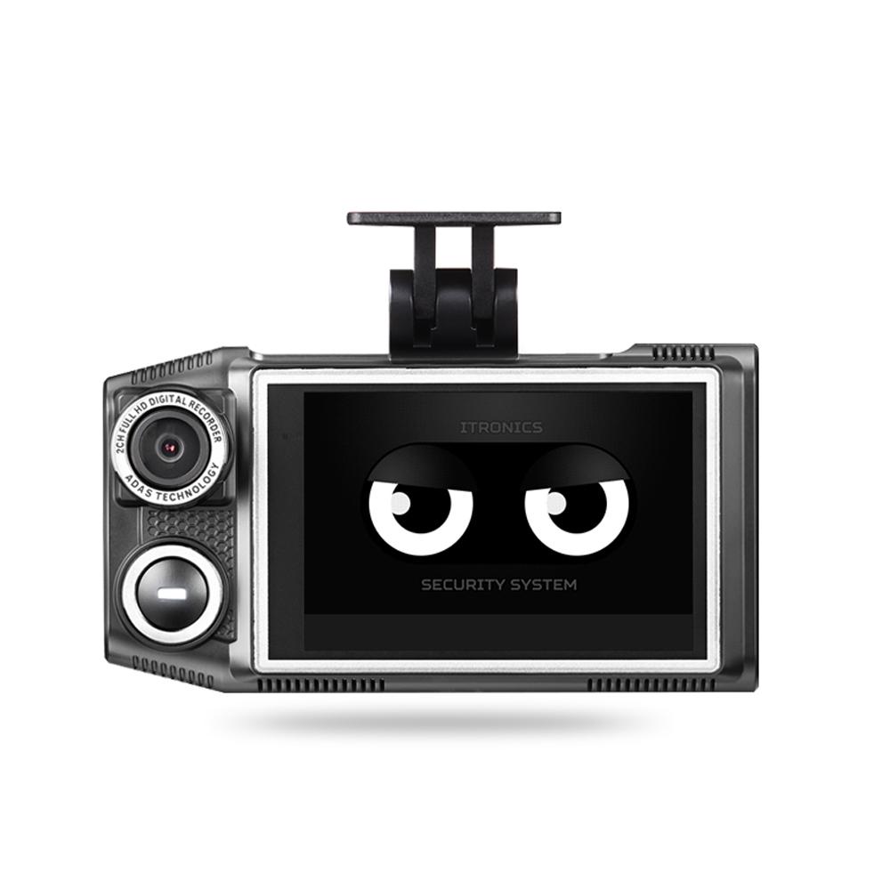아이패스블랙 듀얼 LCD 블랙박스 ITB-7000ECO 32GB