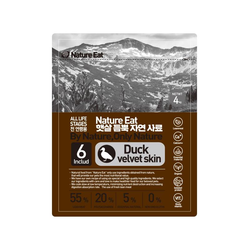 네이처잇 햇살 듬뿍 자연 수제사료, 오리, 4kg