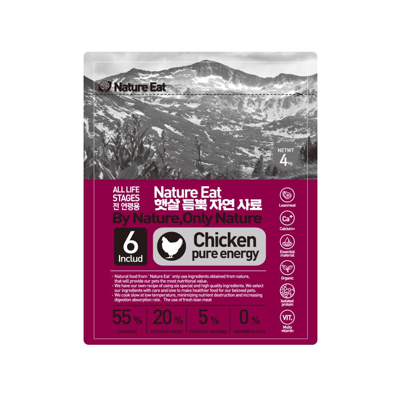 네이처잇 햇살 듬뿍 자연 수제사료, 닭고기, 4kg