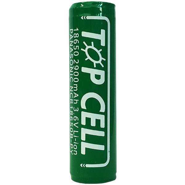 탑셀 리튬이온 18650 충전배터리 2900mAh, 1개입, 1개 (POP 136980135)