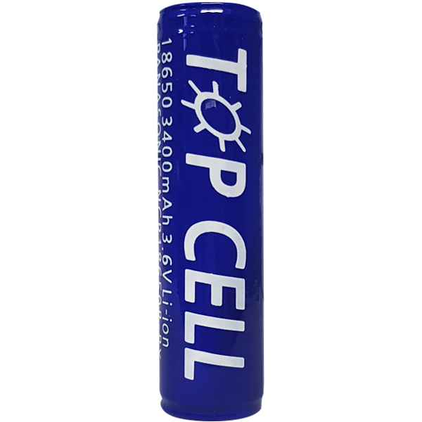 탑셀 리튬이온 18650 충전배터리 3400mAh, 1개입, 1개 (POP 136980136)