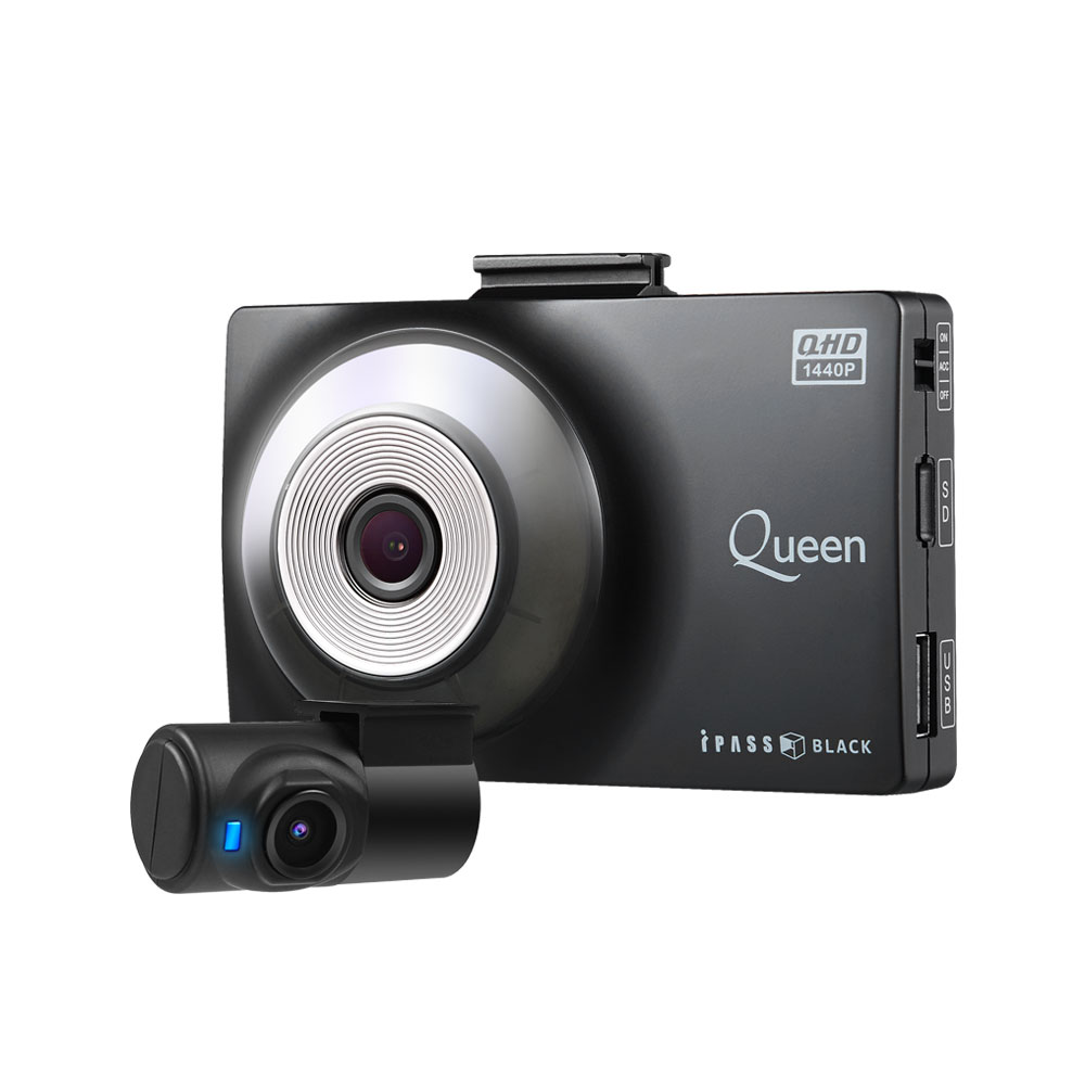 아이패스블랙 QHD FHD 2ch 블랙박스 ITB-8000QHD, ITB-8000QHD(64GB)